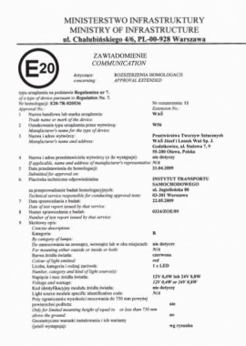 ST3-OR ECE R65