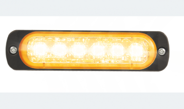 LED flasher<br>Flasher | LED | 6 LEDs | 12‑24V | amber