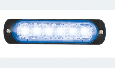 LED flasher<br>Flasher | LED | 6 LEDs | 12‑24V | blue