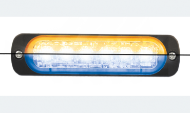 LED flasher<br>Flasher | LED | 6 LEDs | 12‑24V | amber/blue