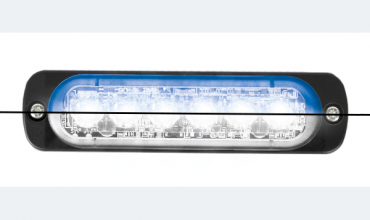 LED flasher<br>Flasher | LED | 6 LEDs | 12‑24V | blue/white