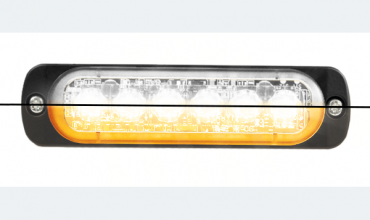 LED flasher<br>Flasher | LED | 6 LEDs | 12‑24V | amber/white