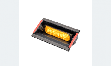 LED flasher<br>Flasher | windscreen | LED | 6 LEDs | 12‑24V | amber ‑ removable