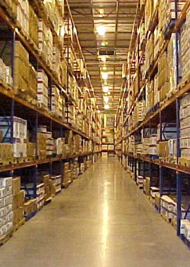 Our warehouse under the magnifying glass
