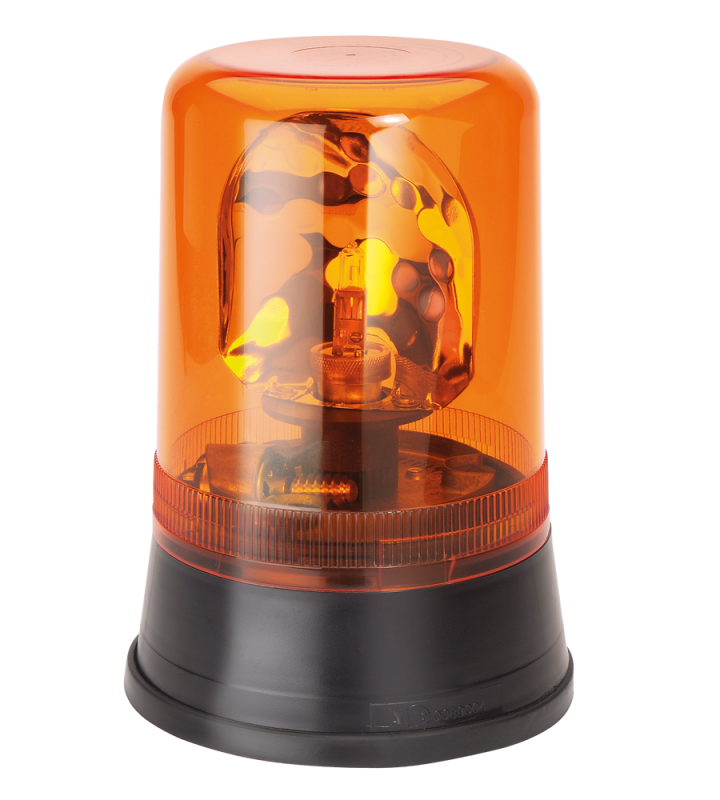 Halogen rotating beacon